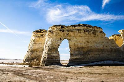 Decor Photograph - Monument Rocks Of Kansas by Ellie Teramoto