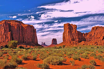 Photograph - Monument Valley 2 - North Window by Allen Beatty