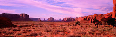 Monument Valley, Utah, Usa Art Print by Panoramic Images