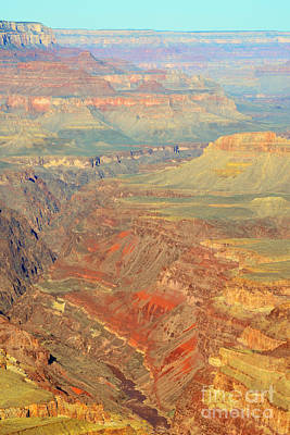 Grand Canyon Photograph - Morning Colors Of The Grand Canyon Inner Gorge by Shawn O'Brien