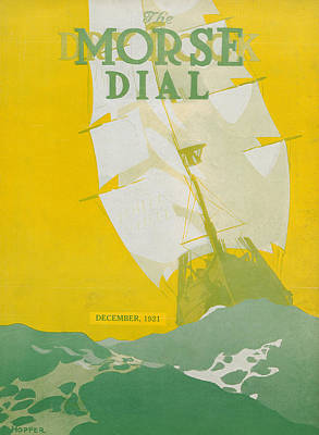 Magazine Cover Painting - Morse Dry Dock Dial by Edward Hopper