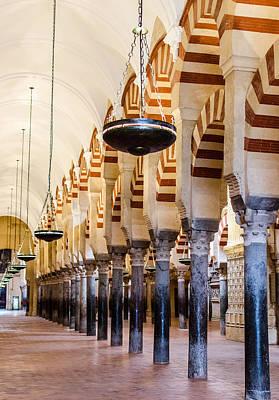 Religion Photograph - Mosque Cathedral Of Cordoba  by Andrea Mazzocchetti