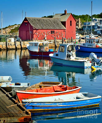 Photograph - Motif Number One Rockport Lobster Shack Maritime by Jon Holiday