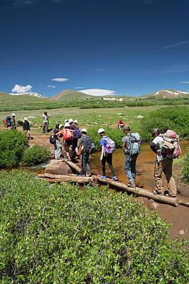 Bierstadt Photograph - Mount Bierstadt Hiking Trail by Jim West