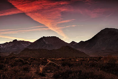 Mountain Royalty-Free and Rights-Managed Images - Mountain Sunset by Andrew Soundarajan
