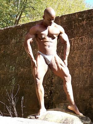 Stock Fitness Photograph - Muscle Art by Jake Hartz