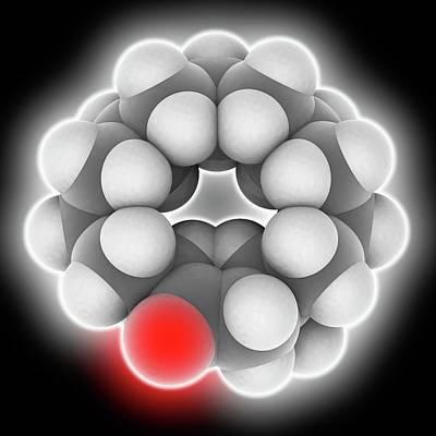 Muscone Molecule Art Print by Laguna Design