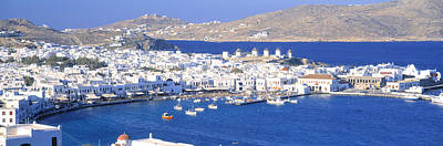 Mykonos Photograph - Mykonos, Cyclades, Greece by Panoramic Images