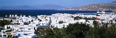 Deep Blue Photograph - Mykonos, Greece by Panoramic Images