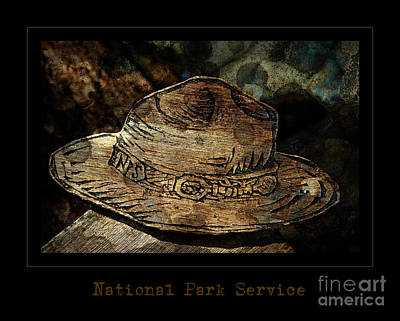 Photograph - National Park Service Ranger Hat by John Stephens