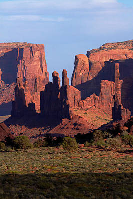 The Plateaus Photograph - Navajo Nation, Monument Valley, Yei Bi by David Wall