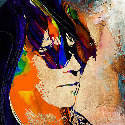 Young Mixed Media - Neil Young Collection by Marvin Blaine