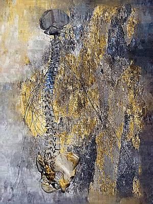 Acupressure Digital Art - Nervous System by Joseph Ventura