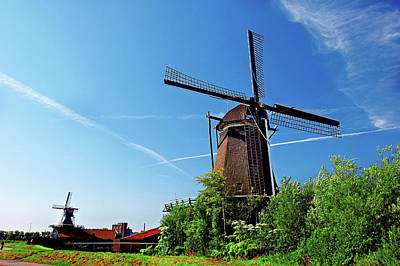 Netherlands, North Holland, Zaanstad Art Print
