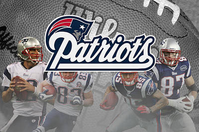 Patriots Photograph - New England Patriots by Joe Hamilton