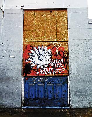 New Orleans Door Art Print