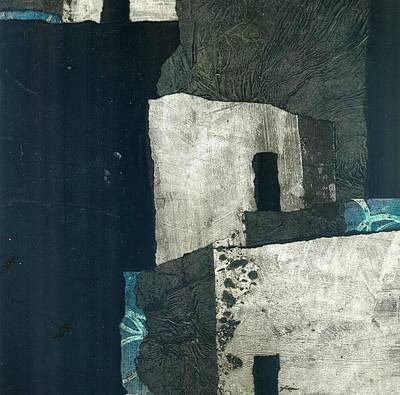 Abstract Collage Mixed Media - New Upload by Laura  Lein-Svencner