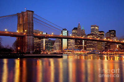 Photograph - New York Skyline by Brian Jannsen