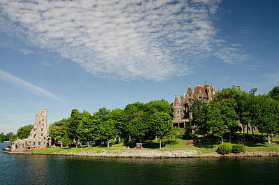 Boldt Castle Photograph - New York, St Lawrence Seaway, Thousand by Cindy Miller Hopkins