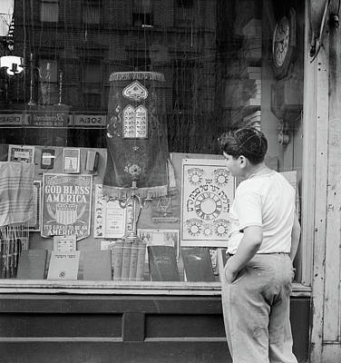 New York Storefront, 1942 Art Print
