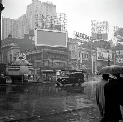 Vachon Photograph - New York Times Square by Granger