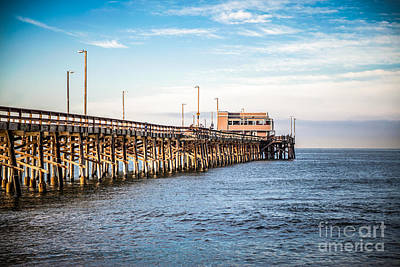 Featured Tapestry Designs - Newport Beach Pier by Paul Velgos