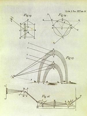 Newton's Optics Art Print by Middle Temple Library