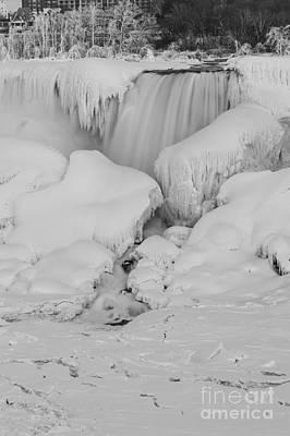Photograph - Niagara Falls Frozen by JT Lewis