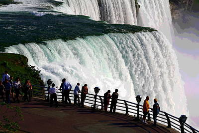 Photograph - Niagara Falls New York by Rexford L Powell