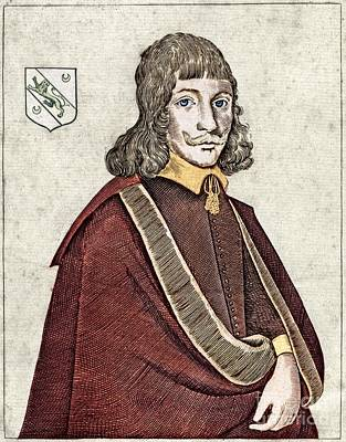 Nicholas Culpeper, English Physician Art Print by Middle Temple Library