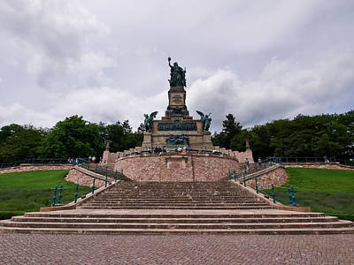 Photograph - Niederwalddenkmal by Jouko Lehto