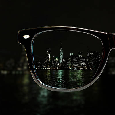 New York City Photograph - Night Vision by Natasha Marco