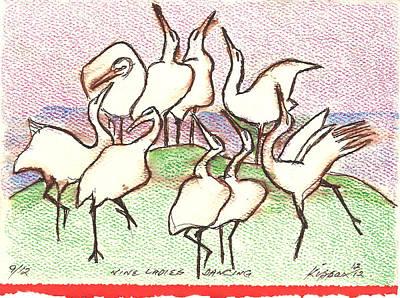Nine Ladies Dancing Original