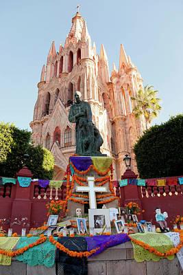 Dia De Los Muertos Photograph - North America, Mexico, San Miguel De by John and Lisa Merrill