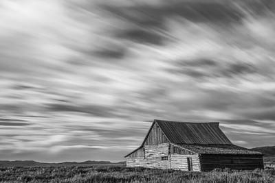 White Barn Photograph - Not In Kansas Anymore by Jon Glaser
