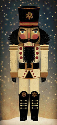 Nutcrackers Painting - Nutcracker by Ryan Fowler