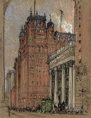 Nyc, Original Waldorf-astoria Hotel Art Print by Science Source