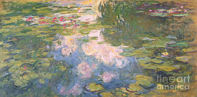Waterlily Painting - Nympheas by Claude Monet