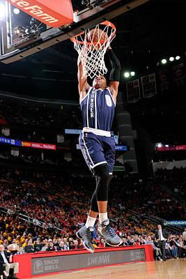 Photograph - Oklahoma City Thunder V Houston Rockets by Bill Baptist