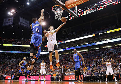 Photograph - Oklahoma City Thunder V Phoenix Suns by Christian Petersen