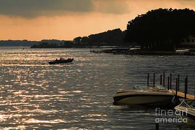Steven Krull Royalty-Free and Rights-Managed Images - Okoboji Sunset by Steven Krull