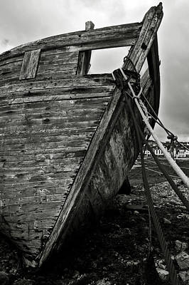 Old Abandoned Ship Art Print