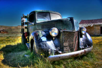 Old Trucks Photograph - Old Truck At Bodie by Chris Brannen