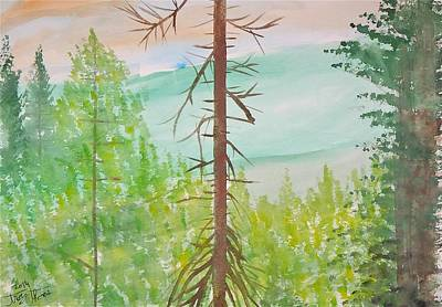 Olympic National Park Painting - Olympic National Park by Troy Thomas