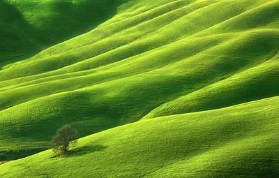 Tuscany Italy Photograph - One... by Krzysztof Browko