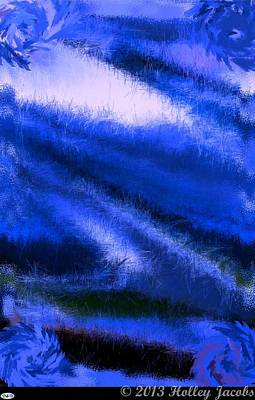 Digital Art - Pocket Full Of Sunshine Blue by Holley Jacobs