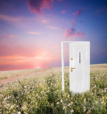 Choice Photograph - Open Door To New Life by Michal Bednarek