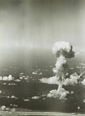 Operation Crossroads Atom Bomb Test Art Print