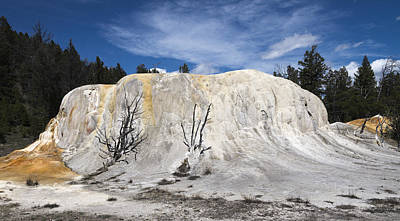 Photograph - Orange Spring Mound Mammoth Hot Springs Yellowstone National Park by James Hammond