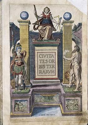 Ortelius, Abraham 1527-1598 Braun Art Print by Everett